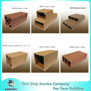 Wood Plastic Composite WPC Square Column, WPC Stand Column pictures & photos