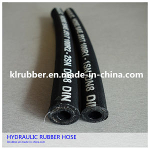 High Pressure Steel Wire Braided Rubber Hose pictures & photos