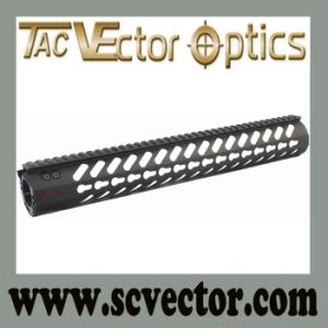 "Vector Optics Gen 2 Free Float 15"" Keymod Handguard Rail Mount Steel Barrel Nut pictures & photos"