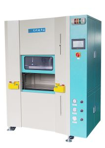 Hot Plate Plastic Melting Machine for Hood pictures & photos