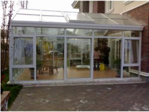 Ritz Customized Aluminium Glass Windows and Doors French Windows pictures & photos