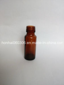 30ml Amber Glass Syrup Bottle DIN 28mm with Tamper Proof Cap pictures & photos
