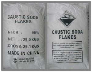 Caustic Soda Flakes and Caustic Soda Pearls pictures & photos