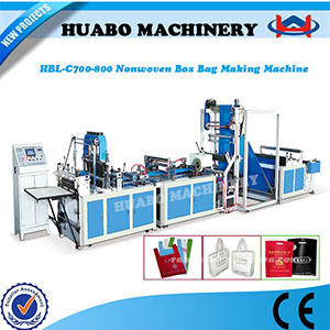 Non Woven Box Bag Making Machine (HBL-C700) pictures & photos