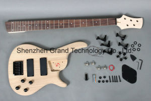 Grand Music / Bolt-on Ash Body Electric Bass DIY Kit (35) pictures & photos