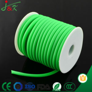 Extruded Soft/Elastic 6mm Green Natural Rubber Cord pictures & photos