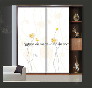 Jinhuajing Art Glass, Decorative Glass, Wardrobe Door Glass for Home pictures & photos