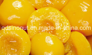Canned Yellow Peaches with Halves, Slices, Dices in Light Syrup or High Syrup (HACCP, ISO, HALAL, KOSHER) pictures & photos