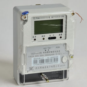 Single Phase Charge-Controlled Intellective Kwh/Energy Meter pictures & photos