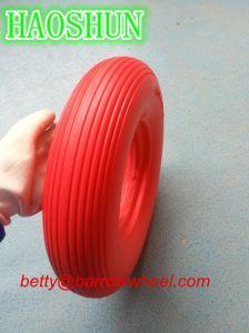 16inch PU Wheelbarrow Wheel 4.00-8 pictures & photos