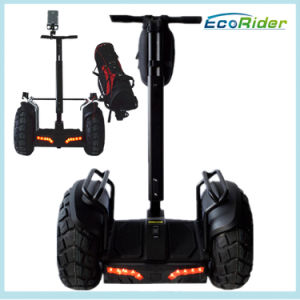 Golf Use Electric Scooter, Ecorider Brand Personal Mobility Vehicle, Two Wheel Golf Cart pictures & photos
