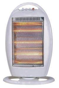 Halogen Heater Hot Sale in America, 1200W, 3 Tubes, Room Heater