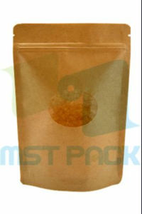 Kraft Paper Stand up Pouch; Food Pouch with Zipper pictures & photos