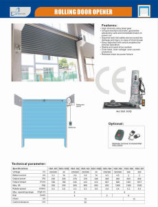 Rolling Shutter Door AC Motor, 600kgs Capacity pictures & photos