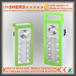 Handheld LED Emergency Light with 1W Flashlight, Reading Light (SH-1904) pictures & photos