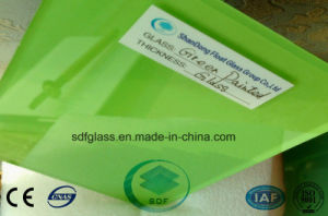 Green Painted Glass with Ce, ISO 3mm to 12mm pictures & photos