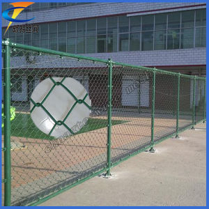 PVC Coated Chain Link Fence (factory, low price, high quality) pictures & photos