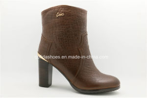 New High Heels Women Leather Boots pictures & photos