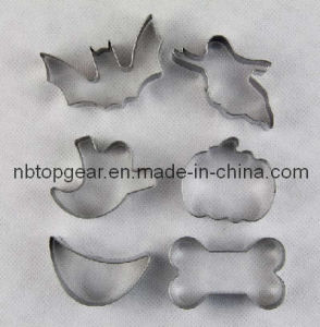 6PCS Metal Cookie Cutter Halloween (TG9446)
