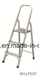 Aluminum Step Ladder Soft Closing Telescopic Ladder (EL-001A) pictures & photos