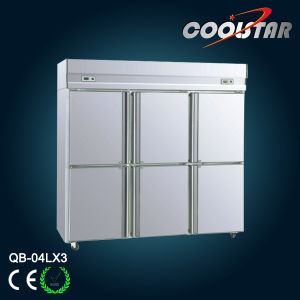 Stainless Steel Commercial Refrigerator (QB-04L*3) pictures & photos