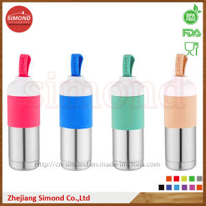 500ml Double Insulated Vacuum Bottle with Handle (SD-8021) pictures & photos