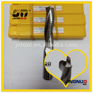 Solid Carbide End Mill Solid Carbide Tapered Ball End Mill Brazed Carbide End Mill pictures & photos