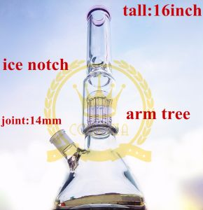 Clear Thick Made of Glass Water Pipe for Smoking Small Oil Rig Glass Recycler Tobacco Tall Color Water Pipe pictures & photos