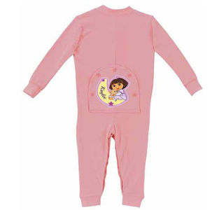 Personalized Dora The Explorer Baby Girl Pink Playwear Pajamas