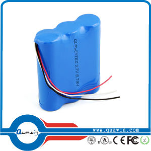 11.1V 10400mAh 3s4p Lithium 18650 Battery Pack pictures & photos