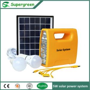 Standard 5V USB Socket Convenient Use Solar Power System pictures & photos