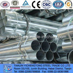 Thread and Cap Galvanized Tube & Pipe-Pre-Galvanized pictures & photos