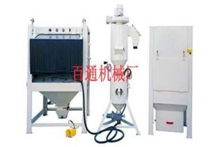 Sandblasting Machine for Jeans and Trousers′ Surface Treatment pictures & photos