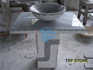 Stone Bathroom Pedestal Sinks pictures & photos