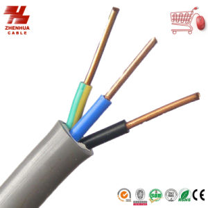 450/750kv Bvvr Mutil-Core Flexible Round Electric Wire and Cable 3*0.75mm2 300/500V pictures & photos