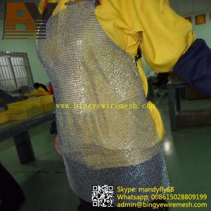 Stainless Steel Chain Mail Metal safety Butcher Glass Garment pictures & photos