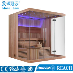 2016 New Design Wooden Barrel Infrared Sauna Room (M-6052) pictures & photos