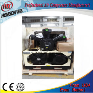 Silent Three Head Reciprocating Piston Air Compressor pictures & photos