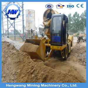 Self Load Hydraulic Mobile Concrete Mixer pictures & photos
