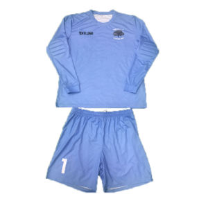 Padded Soccer Goalkeeper Kit Soccer Shirt with Long Sleeve pictures & photos