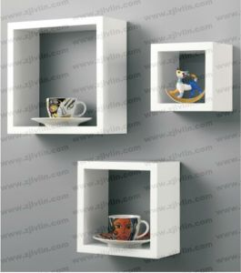 Decorative Wooden Mounted Wall Shelf