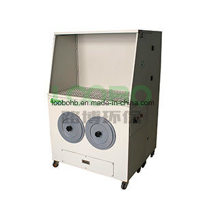 Industrial Downdraft Table for Grinding and Sanding Dust Collection pictures & photos