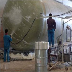 GRP FRP Phosphoric Acid Tank Making Machine pictures & photos