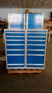 Perfect Mobile Steel Storage Drawer Tool Cabinet with Wheels pictures & photos