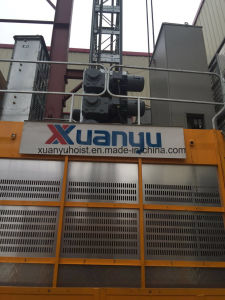 2 Ton Frequency Inverter Materials and Passengers Construction Building Hoist pictures & photos