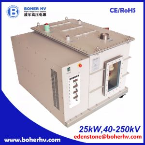 Electron beam welder high voltage power supply 25kW 250kV EB-380-25kW-250kV-F30A-B2kV pictures & photos