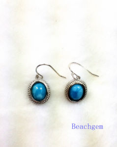 Fashion Larimar Jewelry Earrings (E1303) pictures & photos
