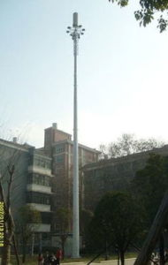 Manufacturing Durable Angle Steel Telecom Tower pictures & photos
