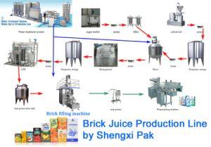 Fruit Juice Production Line/Fruit Juice Complete Process Plant pictures & photos