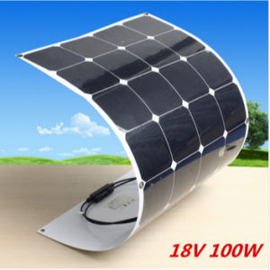 Solar Energy Panel Semi Flexible Solar Panel 100W From China Manufacturer